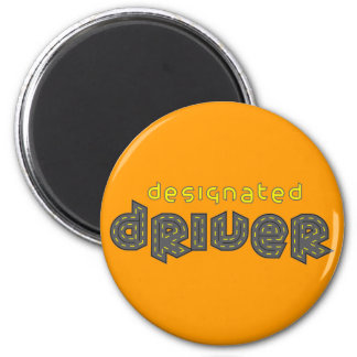 Imán del conductor señalado