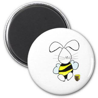 Imán del conejito de la miel