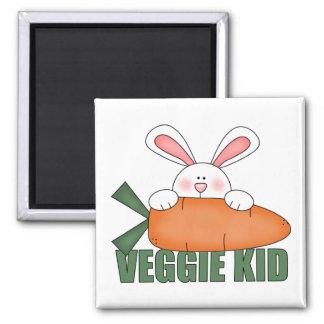 Imán del conejo del niño del Veggie