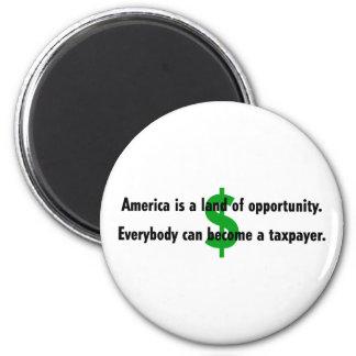 Imán del contribuyente de América