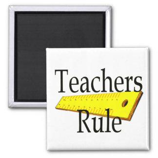 Imán del cuadrado de la regla de los profesores