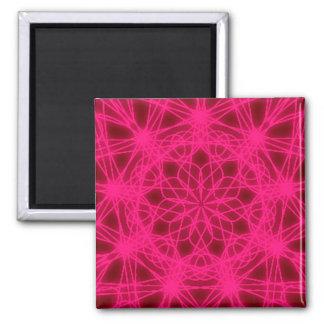 Imán del cuadrado del arte abstracto