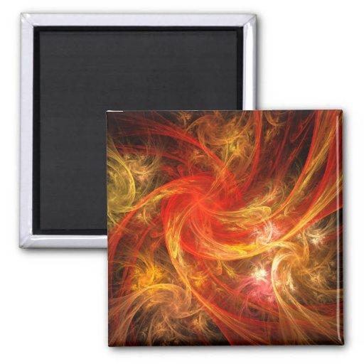 Imán del cuadrado del arte abstracto de la torment