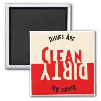 Imán del cuadrado del lavaplatos del diseño del vi