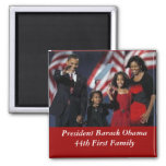 Imán del cuadrado del recuerdo de Obama