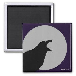 """Imán del """"cuervo"""" de Edgar Allen Poe"""