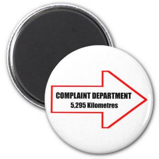 Imán del departamento de denuncia