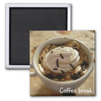 Imán del descanso para tomar café