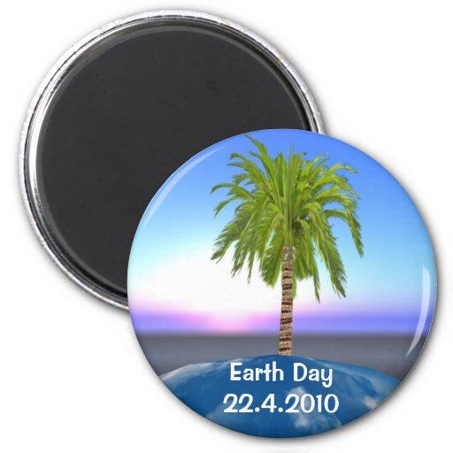 Imán del Día de la Tierra
