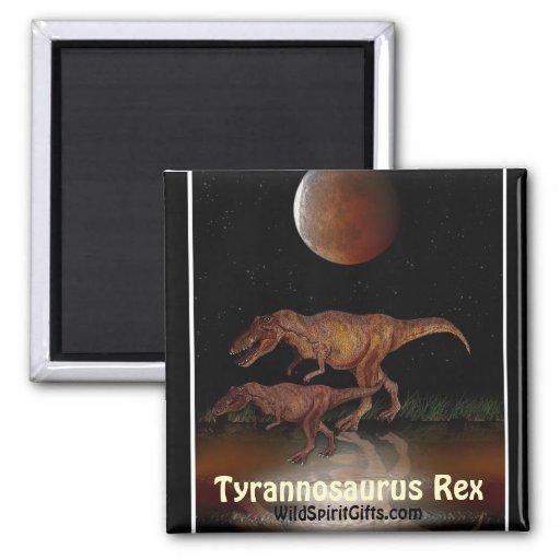 Imán del dinosaurio de T-REX