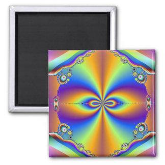 Imán del diseño del fractal
