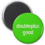imán del doubleplusgood