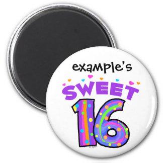 Imán del dulce 16 - cree sus los propios