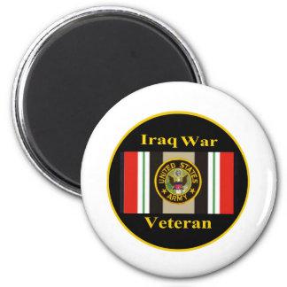 """Imán del """"ejército"""" del veterano de guerra de Iraq"""