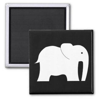 Imán del elefante blanco