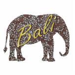 Imán del elefante del batik de Kade Esculturas Fotográficas