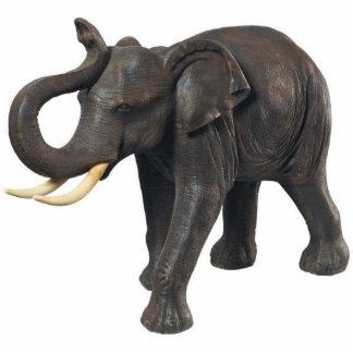 Imán del elefante imán fotoescultura