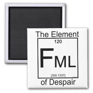 Imán del elemento FML