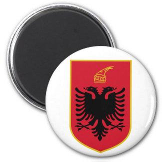 Imán del escudo de armas de Albania