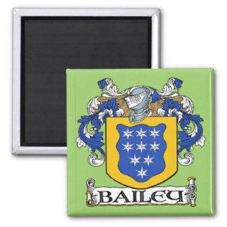 Imán del escudo de armas de Bailey