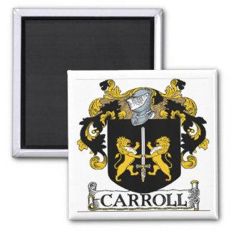 Imán del escudo de armas de Carroll