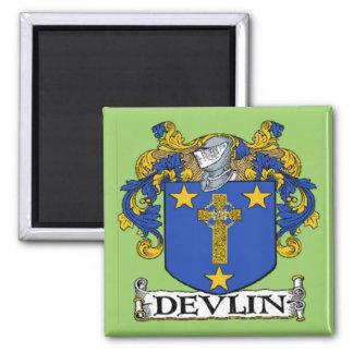 Imán del escudo de armas de Devlin