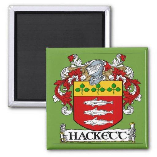 Imán del escudo de armas de Hackett