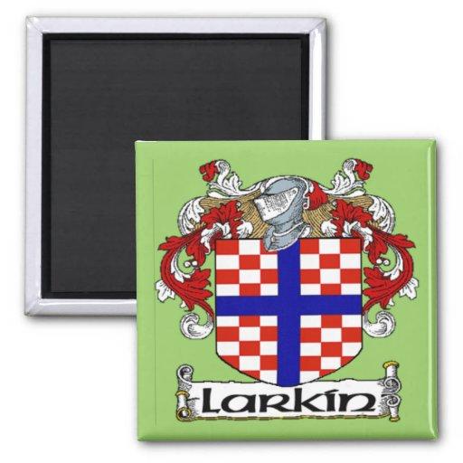 Imán del escudo de armas de Larkin