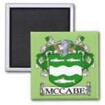 Imán del escudo de armas de McCabe