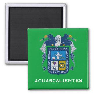 Imán del escudo de armas de Mexico* Aguascalientes