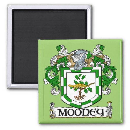 Imán del escudo de armas de Mooney