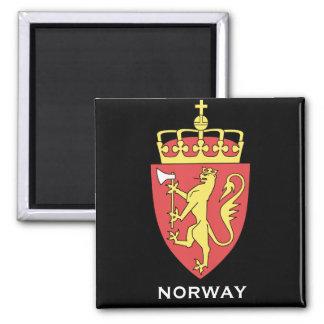 Imán del escudo de armas de Noruega