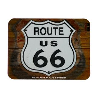 Imán del escudo de la ruta 66