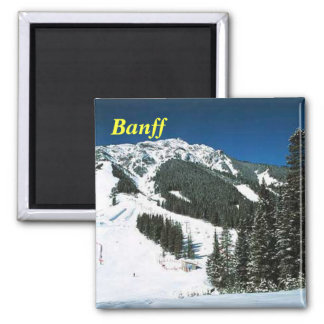imán del esquí de banff