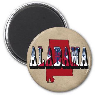 Imán del estado de Alabama