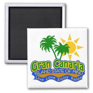 Imán del estado de ánimo de Gran Canaria