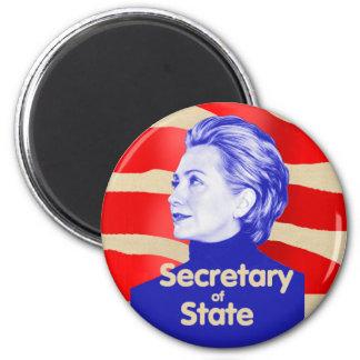 Imán del estado de Hillary