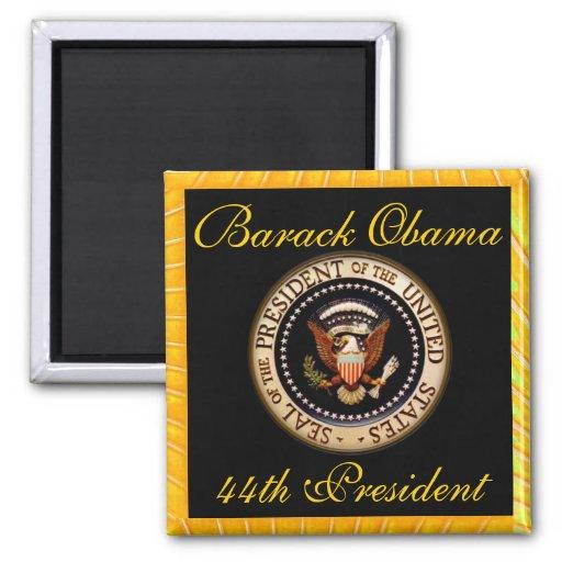 Imán del estilo de la firma de Obama