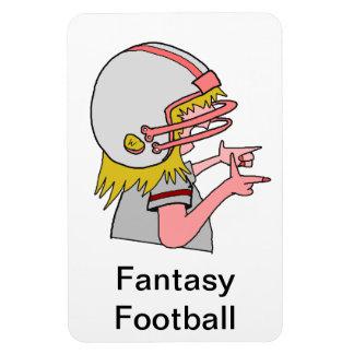 Imán del fanático del fútbol de la fantasía