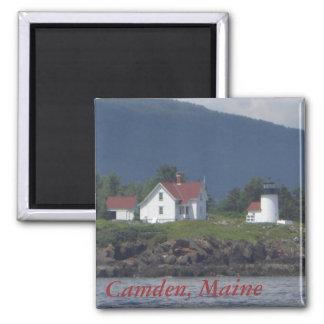 Imán del faro de Camden, Maine
