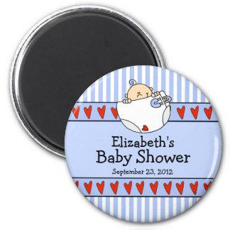 Imán del favor de la fiesta de bienvenida al bebé