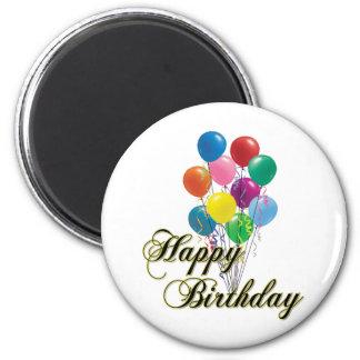 Imán del feliz cumpleaños - D4