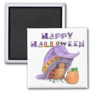 Imán del feliz Halloween de la mariquita