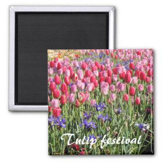 Imán del festival del tulipán