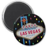Imán del fiesta de Las Vegas