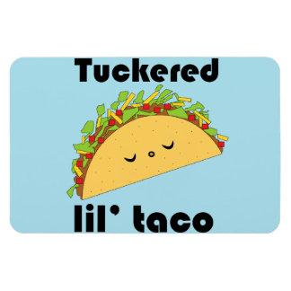 Imán del flexi del Taco de Tuckered Lil'
