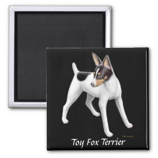 Imán del fox terrier del juguete