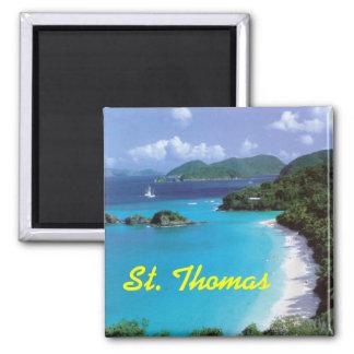 Imán del frudge de St Thomas