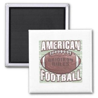 Imán del fútbol americano