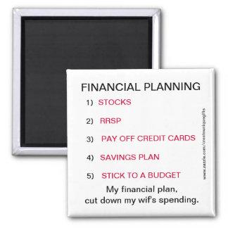 Imán del gasto de Wif de la planificación financie